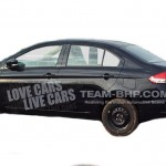 New Maruti SX4 sedan 2014 (YL1) test mule spotted again