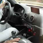 Upcoming 2015 Audi TT Interior Spied