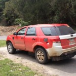 Upcoming 2015 Ford Endeavour spotted again