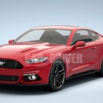 Is this how the 2015 Ford Mustang would look like?