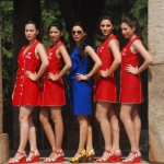 Airtel Formula 1 Grid Girls with Designer Mandira Wirk Kickstart F1 Fervor in the Capital