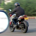 Spied: Bajaj Pulsar 180 NS with triple spark and liquid cooling