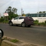 Latest gen 2013 Hyundai Santa Fe continues testing in India. Expo debut likely