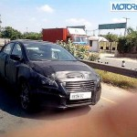 YL1 Sedan, the Maruti SX4 replacement, Spotted testing in Gurgaon