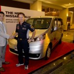Nissan Evalia Drove Fourth-time World Champion, Infiniti Red Bull Racing Team at Indian Grand Prix