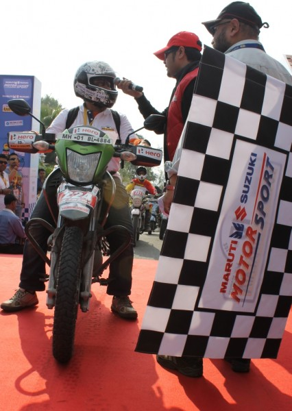 Sheetal Bidaye of Mumbai is the only woman biker in the Raid X-Treme