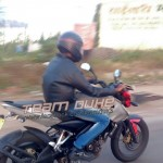 More Spy pics of the speculated Bajaj Pulsar 180 NS
