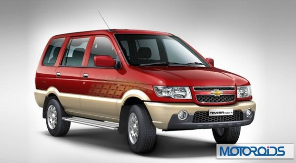 Chevrolet Tavera production resumed in India