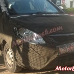Upcoming 2014 Tata Vista facelift spotted testing. Base model to come sans projector headlamps