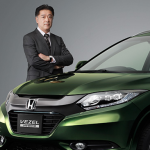 Honda Vezel is the production spec Urban SUV. Showcases at 2013 Tokyo Motor Show