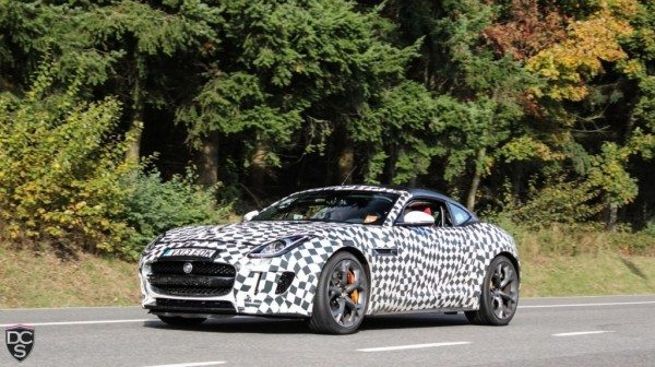 Official: Jaguar F Type Coupe to debut at Los Angeles on Nov 19