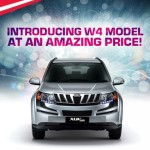 Mahindra XUV500 W4 variant launched @ INR 10.83 lakhs
