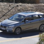 Upcoming 2014 BMW 2 Series Active Tourer spotted sans camouflage