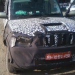 New spy pics of Mahindra Scorpio facelift emerge