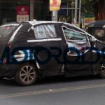 Upcoming 2014 Tata Vista facelift spotted testing