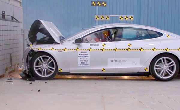 Five-Star Safety Rating 're-awarded' to Tesla Model S
