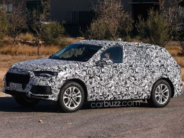 Upcoming 2015 Audi Q7 Spied in Spain