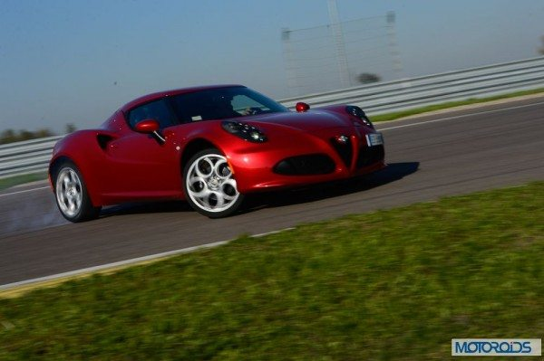 FHM Magazine- New Alfa Romeo 4C is 2013 Car of the Year