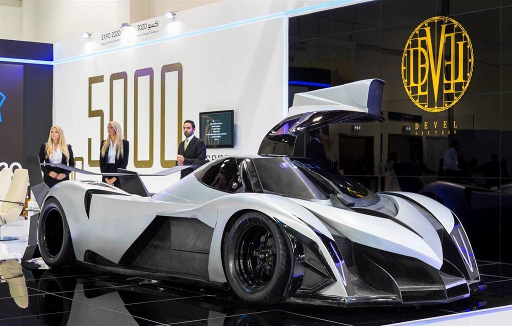 Made In Dubai The Bhp Devel Sixteen Supercar Motoroids