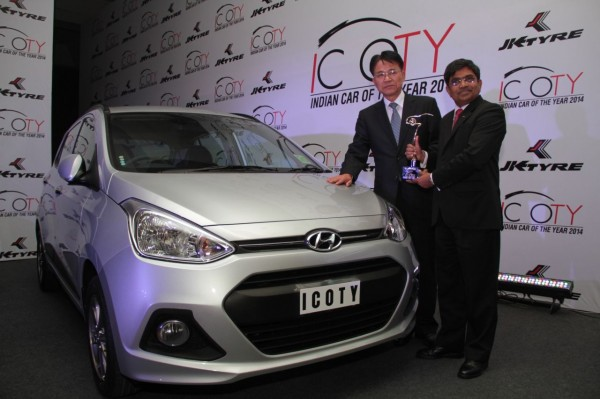 Hyundai Grand i10 is the Indian Car of Year (ICOTY) 2014