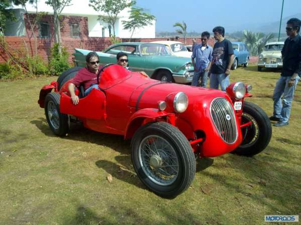 Vintage Car Rally In Lavasa: Images and Event Report