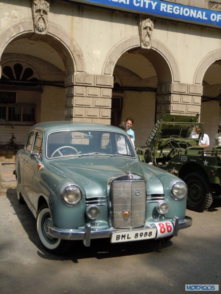 Merc 180D Amol Vintage Car Rally Lavasa