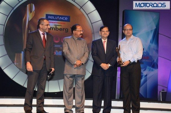 Mr. Vivek Law, Editor - Bloomberg TV India, Mr. Veerappa Moily, Mr. Gejendra Haldea, Mr. Amit Nandi - Vice President Bajaj Auto