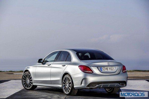 New 2015 Mercedes C Class exterior (1)