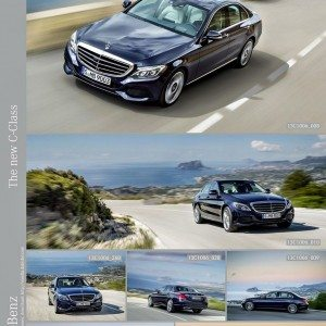 New 2015 Mercedes C Class exterior (17)