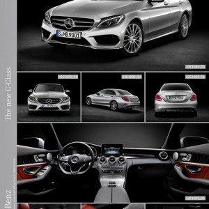 New 2015 Mercedes C Class exterior (18)