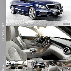 New 2015 Mercedes C Class exterior (20)