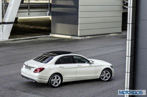 New 2015 Mercedes C Class exterior (3)