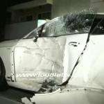 18 Year Old Crashes Bentley Continental GT in Los Angeles