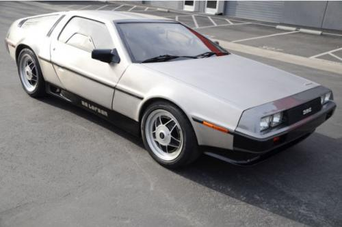 Video- Modified DeLorean DMC-12 being auctioned on eBay. Has a 570hp motor