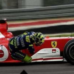 Rossi to pilot a Ferrari at Le Mans?
