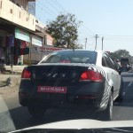 Upcoming Fiat Linea Facelift Caught Testing near Pune