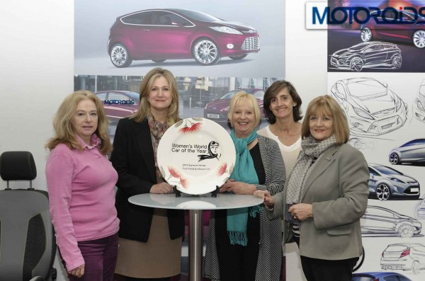 Ford Fiesta 1.0 EcoBoost presented with Women's World Car of the Year Award