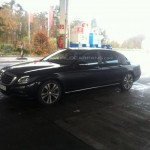 Upcoming 2014 Mercedes-Benz S-Class Extra Long Wheelbase Spied