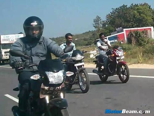 Upcoming TVS-Phoenix Based 110cc bike spotted testing