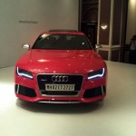 LIVE from Audi RS7 India launch event. Price- 1.28 Crores