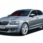 Rendering- Is this how the 2016 Skoda Superb would look like?