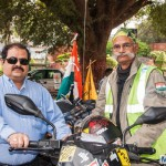 Colonel MA Kaleem Attempts a 35000 km World Record Ride at 68 Years