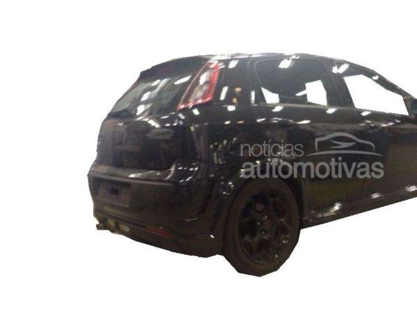Spied- Fiat Punto T-Jet Mopar edition pics surface online