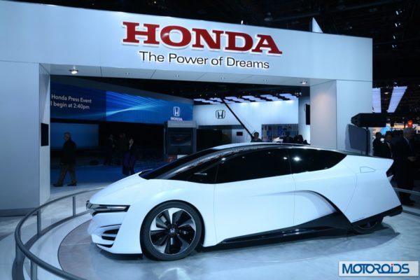 Honda FCEV Concept NAIAS 2014 Detroit