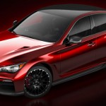Infiniti Q50 Eau Rouge Concept first official pics released