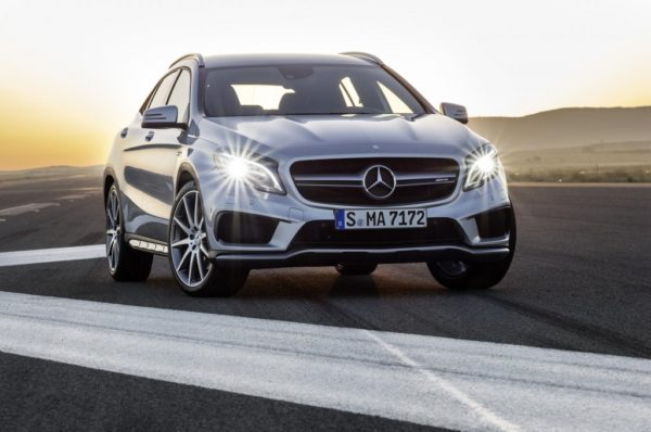 Mercedes-Benz GLA 45 AMG Officially Revealed; Detroit Debut