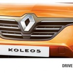 Renault Koleos facelift India debut could happen at Auto Expo 2014; Teaser image released