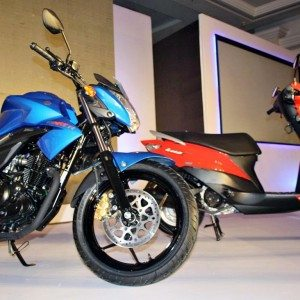 Suzuki Gixxer and Let's (1)