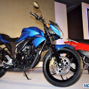 Suzuki Gixxer and Let's