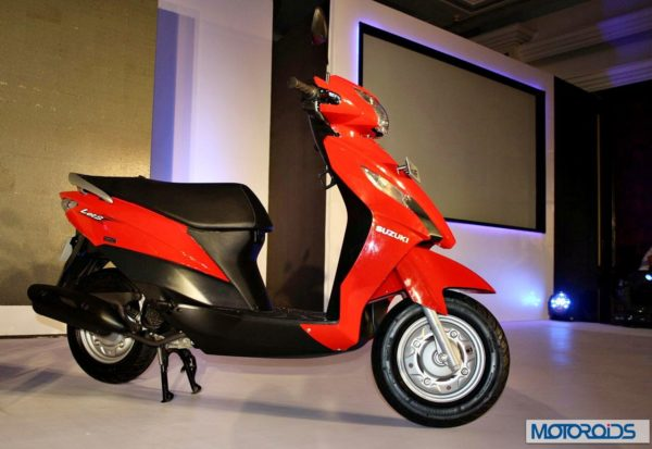 Suzuki Let's 110cc scooter India (11)